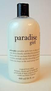 philosophy paradise girl shampoo shower gel bubble bath 16 oz philosophy paradise girl shampoo shower gel bubble bath 16 oz made in