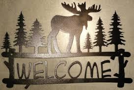 Moose Head Decor Wall Ideas Moose Wood Wall Art Moose Wall Art Metal Moose Wall