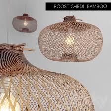 Bamboo Ceiling Light 3d Models Ceiling Light Bamboo Ceiling L
