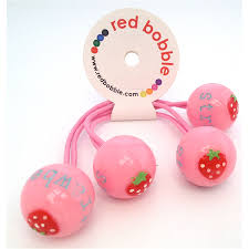 bobbles hair bobble strawberry bobble hair elastic kids bags