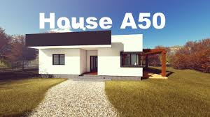 modern bungalow house modern bungalow house design model a50 96 3 square meters youtube
