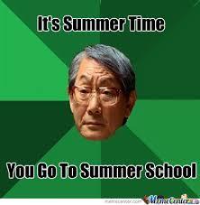 Summer School Meme - summer school by feelsonic meme center