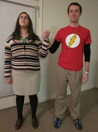 party city halloween costumes magazine sheldon and amy costume halloween costumes pinterest