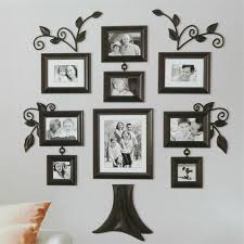 mesmerizing family tree wall decor with frames family picture wall