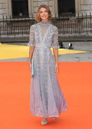 temperley london arizona muse wearing temperley london at the royal academy of arts
