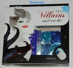 kiss disney villains nail art kit u2013 ursula beautyjudy