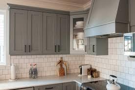 Modern Gray Kitchen Cabinets Gray Kitchen Cabinets Kitchen Kitchen Cabinet Design L Shape