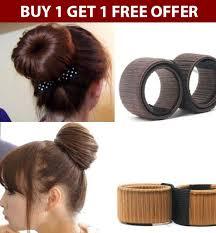black hair bun magic twist hair bun maker deal retreat online shopping