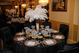 white ostrich feather centerpieces catherine scerbo events may 2013