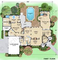 hermann park residential house plans luxury house plans