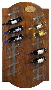 french heritage anjou wine wall rack rustic wine racks by