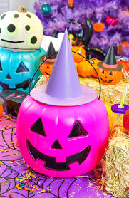 diy battery powered halloween pumpkin lights brite and bubbly