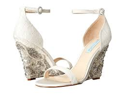 wedges for wedding dress 42 best wedding wedges you can buy now