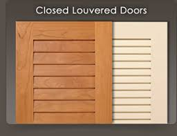 Louvered Closet Doors Custom Louvered Doors Wood Shutters For Cabinets And Closets