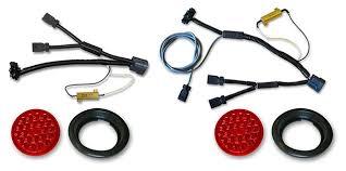 jeep wrangler light wiring spyder led lights with wiring harnesses kit for jeep wrangler jk