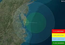 Virginia Coast Map by Wednesday Rocket Launch To Be Visible Along Mid Atlantic Nasa