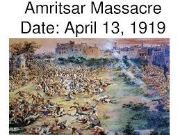 amritsar massacre india imperialism to modern time
