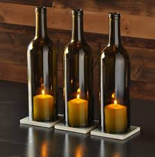 easy table lamp crafts for christmas candle in a wine bottle id