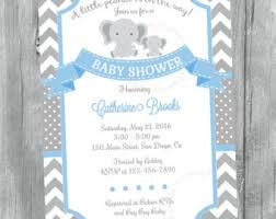 baby boy shower invitations baby shower invitation etsy