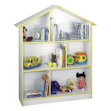 kids white bookcase shop venture horizon doll house kids white 6 shelf bookcase at