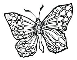 cross tattoo coloring pages butterfly page kids u2013 vonsurroquen me