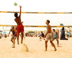 outdoor volleyball in the chesapeake region