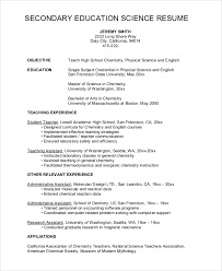 resume examples high high resume template no