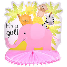 girl baby shower bulk pink its a girl baby shower centerpieces 10 in at