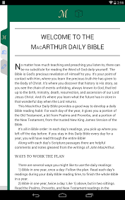 read the plan amazon com macarthur daily bible appstore for android