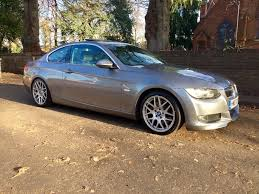 2007 07 bmw 325i se manual coupe e92 space grey m sport looks and