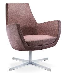 Low Back Armchair Mae Low Armchair With 4 Star Base Sme2a Connection