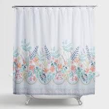 shower curtains u0026 shower curtain rings world market