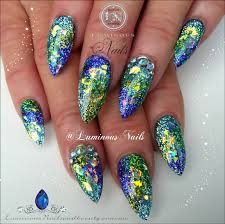 blue and gold nail designs choice image nail art designs