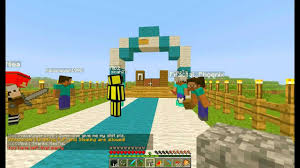 Wedding Arches How To Make Noob Wedding In Minecraft Youtube