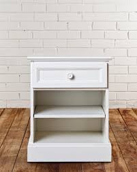 bedroom furniture bedside chest of drawers 18 inch nightstand