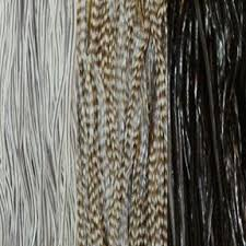 salt and pepper tape in hair extentions amazon com salt and pepper black gray mix feather hair