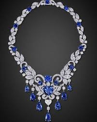 jewelry blue sapphire necklace images 253 best desirable diamond necklaces images diamond jpg