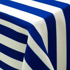 Blue Awning Awning Stripe Royal Blue U0026 White Rentals Linen Rentals