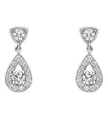 diamond earrings with price chaumet joséphine 18ct white gold diamond earrings selfridges