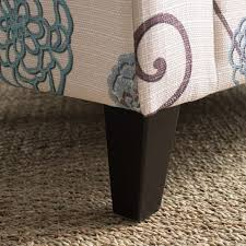 breanna floral fabric storage ottoman by christopher knight home preston floral fabric club chair by christopher knight home free