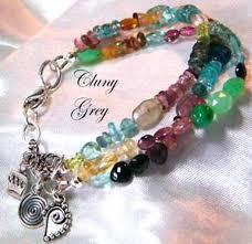 handmade bracelet charms images Multi gemstone bracelets cluny grey jewelry jpg