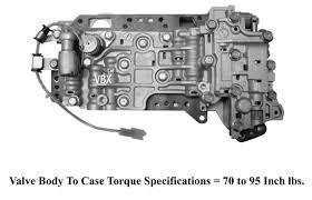 ford mazda f4eat f4ael valve body 1990 1997 1 year warranty