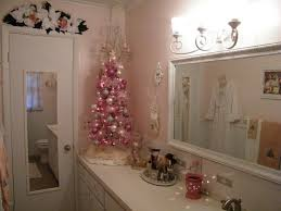 the most creative and beautiful bathroom decoration with christmas