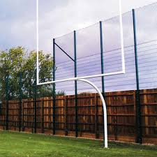 football field goal posts football equipment net world sports