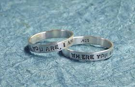 wedding engravings what to engrave on a wedding band custom engraved rings