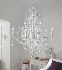 White Chandeliers Shabby Chic White Chandelier Foter