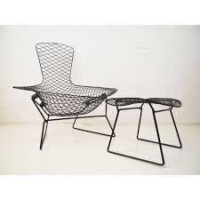mesh lounge chair and ottoman