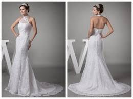high neck halter wedding dress halter neck wedding dresses ivo hoogveld