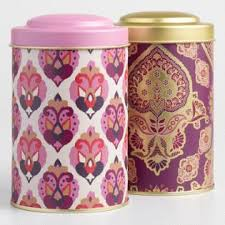 Purple Canister Set Kit by Storage Containers Jars Canisters World Market