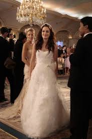 blair wedding dress blair waldorf wedding dress